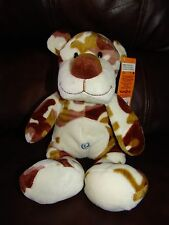 Animal Alley Camouflage Tiger Cat Plush Beanie Doll 13""