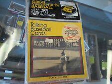 1979 Talking Baseball Cards Don Larsen  #7  33 1/3 rpm speed