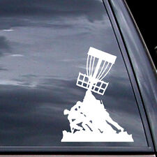 Disc Golf Vinyl Sticker - Iwa Jima Disc Golf  - Car Vinyl Sticker