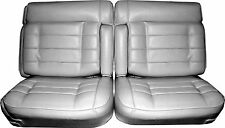 1975-1976 CADILLAC ELDORADO FRONT 50/50 SPLIT BENCH SEAT COVER 3 COLORS AVAIL