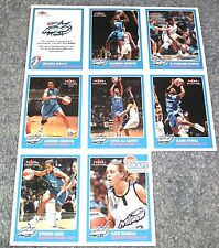 ORLANDO MIRACLE 2001 WNBA Fleer Collectors Edition Team Card Set SGA