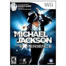 MICHAEL JACKSON THE EXPERIENCE FOR (NINTENDO Wii 2010) COMPLETE GAME