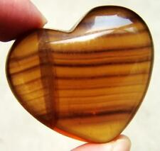 FLUORITE Crystal Carving ART Heart