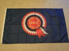 BMC Blue Mini Morris Triumph Land Rover Austin Wolesley workshop flag banner