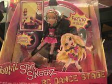New In Box Bratz RC Remote Control Star Singerz Dance Stage Spin & Dance Lights