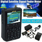 "SATLINK WS 6906 Satfinder Satelliten DVB-S FTA Sat Messgerät DVBS Digital 3,5"""