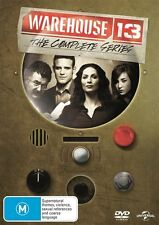 Warehouse 13 : Season 1 2 3 4 5 (DVD, 19-Disc Set) NEW