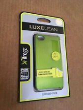 NEW/SEALED IFROGZ LUXELEAN HARD PHONE CASE - IPHONE 4/4S - GREEN
