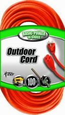 100ft.16/3 Gauge Indoor/Outdoor Extension Cord Heavy Duty Electrical Power Cable