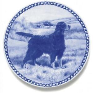 Gordon Setter - Dog Plate made in Denmark from the finest European Porcelain
