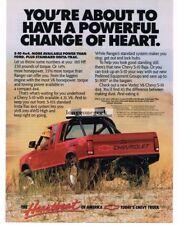 1989 Chevrolet Chevy S-10 4x4 Baja Pickup Truck Vtg Print Ad