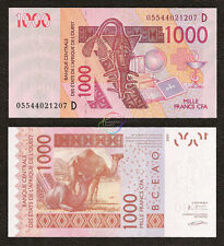 WEST AFRICAN STATES, MALI 1000 Francs 2003 (2005) P-415D UNC Uncirculated
