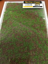 AMMO of Mig Jimenez Realistic Ground Mat - Spring Steppe (Dimensions:230x130 mm)