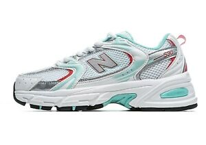 [New Balance] 530 Retro Running Shoes Sneakers- White Red Mint Green (MR530CC1)
