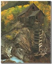 Crystal Mill Scenery Landscape Nature Wall Decor Art Print Picture (8x10)