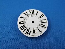Blank -Latin & Numbers- White Wrist Watch Dial Part  27.5mm -Swiss Made- #291