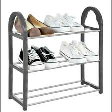 3 Tier Shoe Rack Organiser, Quick Assembly No Tools Required