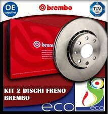 DISCHI FRENO BREMBO PEUGEOT 207 1.4 e 1.4 HDI dal 02/2006 ANTERIORE