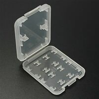 8 In 1 TF Micro  HC Memory Card Protection Storage Case White Box Holder
