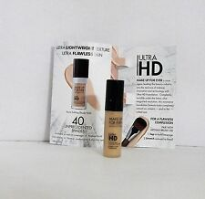 Lot of 2 MAKE UP FOR EVER ULTRA HD FOUNDATION 117/Y225 Marble .16 oz. NEW