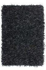 Tappeti in pelle nera per bambini