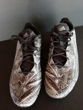 ADIDAS MEN'S Football Cleat Shoes Size 11.5 US  Snake Skin Design