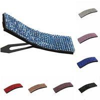 Strass Haarclip Haarklammer Haarspange Haarschmuck Haar Pin in 8 Farben