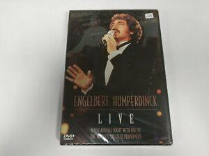 JJ11- ENGELBERT HUMPERDINCK LIVE  DVD NUEVO PRECINTADO LIQUIDACIÓN!!