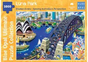 Blue Opal 1000pc Jigsaw Puzzle - Stephen Evans Luna Park