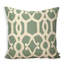GP & J Baker Threads Zenith Luxury Designer Geometric Grey Cushion Pillow Cover