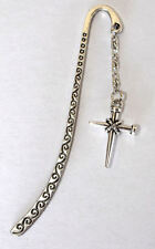 Crucifix Cross - Passion of Jesus Christ Crucifixion nails - bookmark