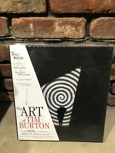 The Art Of Tim Burton New Sealed Standard Edition Book - Ships Priority Mail.