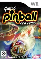 Gottlieb Pinball Classics (Wii) Nintendo Wii PAL VERY GOOD CONDITION WITH MANUAL
