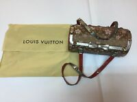Louis Vuitton  Cherry Blossom Papillon Monogram Swarovski Diamonds limited ed.