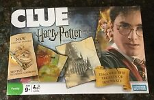 CLUE: Harry Potter Edition Secrets Of Hogwarts, Brand New, Sealed in Shrink Wrap