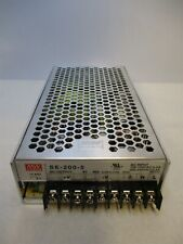Mean Well Se 200 5 24v 88a 200w Acdc Switching Single Out Power Supply Unit