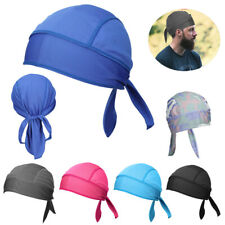 Quick Dry SKULL CAP Motorcycle Cycling Helmet Liner Running Sweat Beanie Hat Cap
