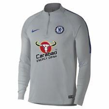 Nike Chelsea Fc 18/19 Strike Drill Top - Size Medium - Grey/Blue (914007-015)