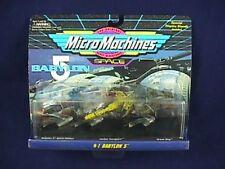 Micro Machines Babylon 5 Galoob 65620 Set #1 1994 Nos Original Packaging Space