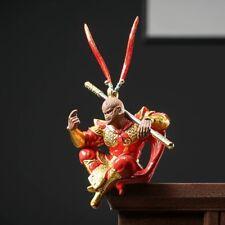 Chinese Creative Pottery Figurine Statues Monkey Sun-WuKong Ceramic Porcelain孙悟空