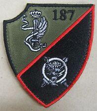 Toppa/Patch Comandante 2° BTG. PARACADUTISTI TARQUINIA - B.PAR.FOLGORE - Rarità
