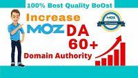 Increase Domain Authority MOZ DA 45+ with High Authority Backlinks -Google SEO