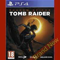 SHADOW OF THE TOMB RAIDER - PlayStation 4 PS4 Game in English Brand New & Sealed