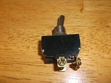 TOGGLE SWITCH-DPST * OFF-(ON) * 15 AMP * 125 VAC * SELECTA SWITCH SS208A