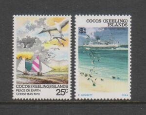 Kokos Island - 1979, Weihnachten Set - MNH - Sg 48/9