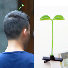 3PC NEW Design Funny Bean Sprout Antenna Green Plant Hairpin Men Women Girl Baby