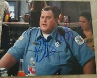 BILLY GARDELL SIGNED 8X10 PHOTO MIKE AND MOLLY W/COA+PROOF RARE WOW