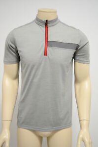 Ashmei Mens Merino/Carbon Jersey Short Sleeve Grey Size M