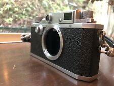 *Exc+4* Canon IId 2d Leica Screw Mount Rangefinder Camera from JAPAN
