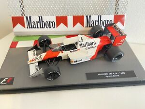 F1 Car Collection XTRA -  Ayrton Senna -Full MARLBORO McLaren MP4/4 1988 -Superb